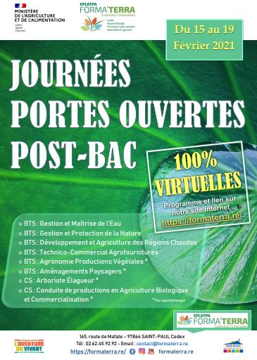 Visuel_PORTES OUVERTES POST-BAC_du 15 au 19 fev2021